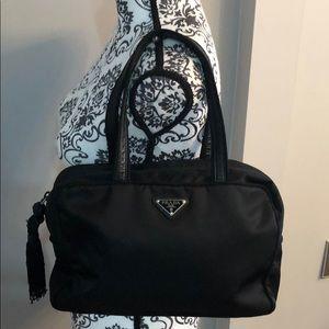 AUTHENTIC PRADA BLACK SHOULDER BAG
